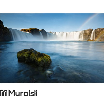 Godafoss waterfalls in Iceland Wall Mural Wall art Wall decor