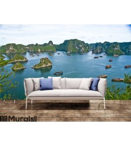 Halong Bay, Vietnam Wall Mural Wall art Wall decor