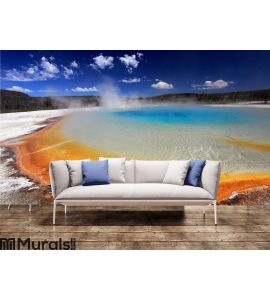 Yellowstone National Park Wall Mural Wall art Wall decor
