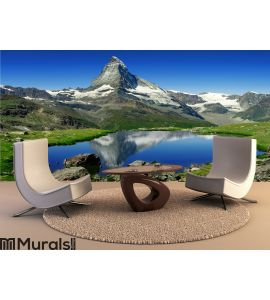 Matterhorn Wall Mural Wall art Wall decor