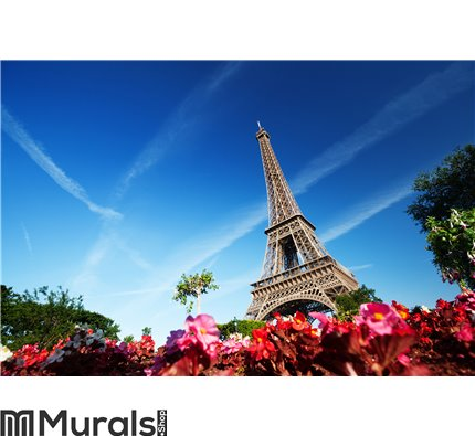 Eiffel Tower, Paris Wall Mural Wall art Wall decor