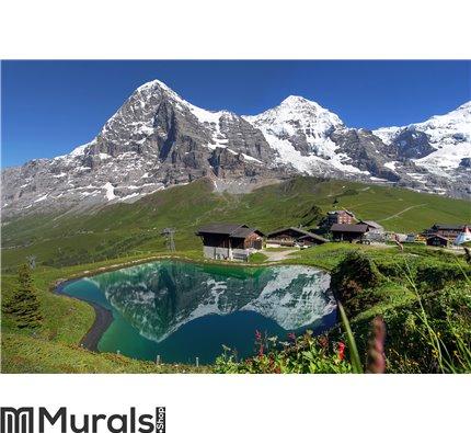 Swiss Alps Landscape Wall Mural Wall art Wall decor