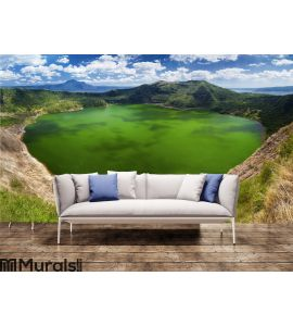 Taal volcano, Manila, Philippines Wall Mural Wall art Wall decor