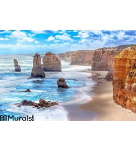 Twelve Apostles along the Great Ocean Road Wall Mural