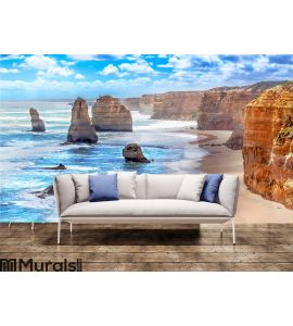 Twelve Apostles along the Great Ocean Road Wall Mural Wall art Wall decor