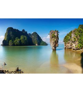 Phang Nga Bay, Thailand Wall Mural Wall art Wall decor