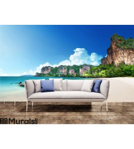 Railay beach in Krabi Thailand Wall Mural Wall art Wall decor