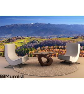 Beautiful autumn landscape Wall Mural Wall art Wall decor