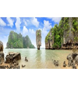 James Bond Island Wall Mural Wall art Wall decor