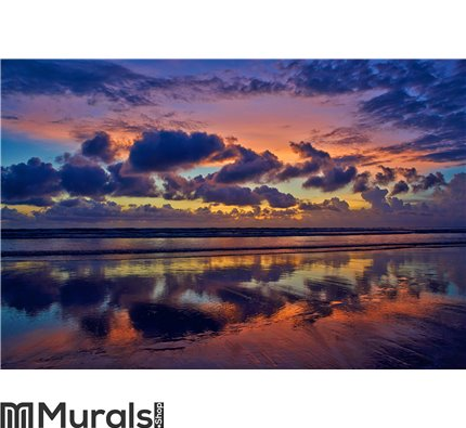 Ocean sunset Wall Mural Wall art Wall decor