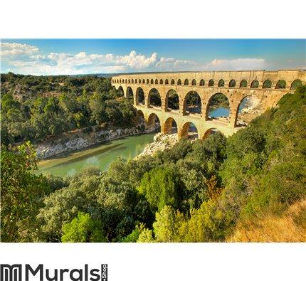 Pont du Gard, in France Wall Mural Wall art Wall decor