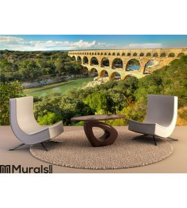 Pont du Gard, in France Wall Mural Wall art Wall decor