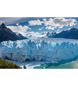 Perito Moreno Glacier, Patagonia, Argentina Wall Mural Wall art Wall decor