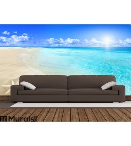 Shells on sunny beach Wall Mural Wall Tapestry tapestries