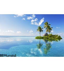Tropical paradise Wall Mural Wall Tapestry tapestries