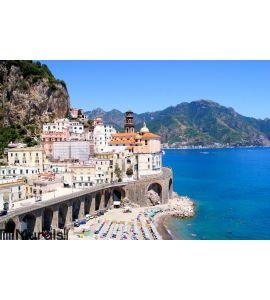 Amalfi Coast views Wall Mural Wall Tapestry tapestries