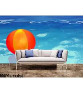 Ball in the pool Wall Mural Wall Tapestry tapestries