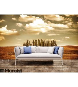 Beautiful autumn vinatge landscape Wall Mural Wall Tapestry tapestries