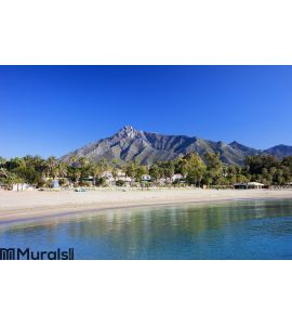 Marbella Beach on Costa del Sol Wall Mural