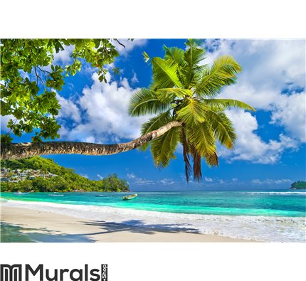 Peaceful Seychelles islands Wall Mural Wall art Wall decor