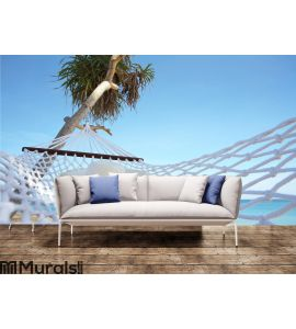 Relaxing tropical landscape Wall Mural Wall art Wall decor