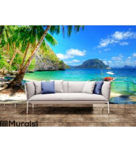 Tropical escape Wall Mural