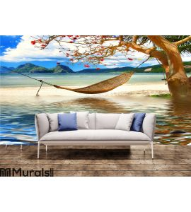 Tropical relax Wall Mural Wall Tapestry tapestries