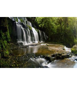 Waterfall Panorama Wall Mural
