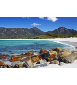 Wineglass bay Wall Mural