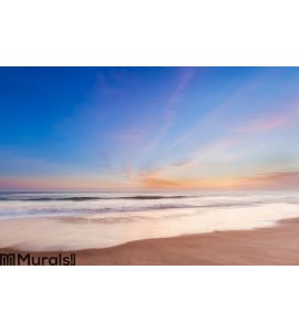 Beautiful sunset in southern california beach Wall Mural