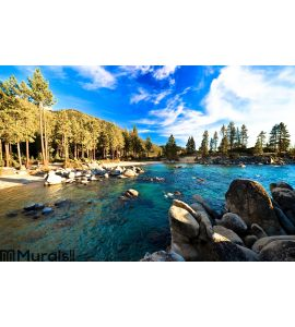 Lake Tahoe, California, USA Wall Mural