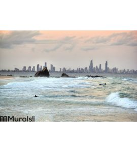 Currumbin Rock Gold Coast Australia Wall Mural
