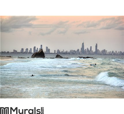 Currumbin Rock Gold Coast Australia Wall Mural Wall art Wall decor
