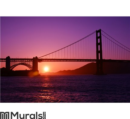 Golden Gate Bridge Wall Mural Wall art Wall decor