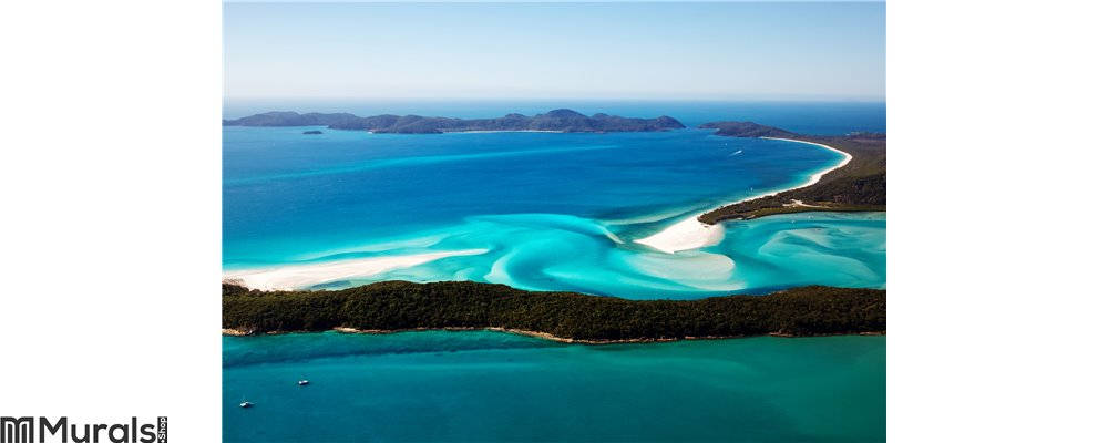 Hill Inlet Whitsundays Wall Mural