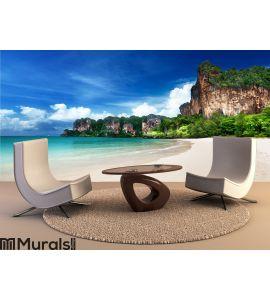 Railay beach in Krabi Thailand Wall Mural