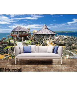 Rocky island Wall Mural Wall art Wall decor